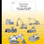 Liebherr L506, L507, L508, L509, L510, L514 Wheel Loader Service Manual