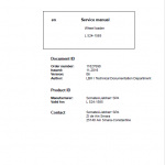 Liebherr L524 Type 1585 Wheel Loader Service Manual