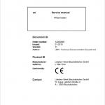 Liebherr L586 Type 1334 Wheel Loader Service Manual