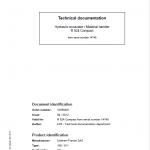 Liebherr R924 Compact Excavator Service Manual