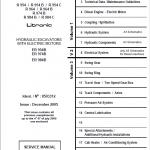 Liebherr ER954B, ER974B, ER984B Litronic Hydraulic Excavator
