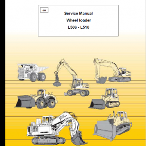 Liebherr L506, L508, L510 Wheel Loader Service Manual