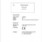 Liebherr L507 Type 1259 Wheel Loader Service Manual
