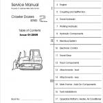 Liebherr PR 712, PR 722, PR 732, PR 742, PR752 Crawler Dozer Service Manual