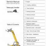 Liebherr TL441-10, TL451-10, TL441-13, TL451-13 Telescopic Handler Service Manual