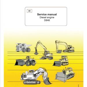 Liebherr D846 Engine Service Manual