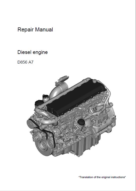 Liebherr D856 A7 Engine Service Manual
