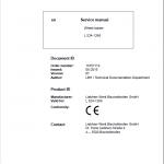 Liebherr L524 Type 1266 Wheel Loader Service Manual