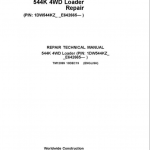 John Deere 544K 4WD Loader Service Manual (SN. after E642665)