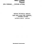 John Deere 544K 4WD Loader Service Manual (SN. F670308 – F677548)