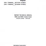 John Deere 550K, 650K Crawler Dozer Service Manual (SN. from E216396-E275533)