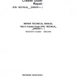 John Deere 750J-II Crawler Dozer Service Manual (SN. from D000001 – D306890)