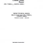 John Deere 850J-II Crawler Dozer Service Manual (SN. from C306799 – C354851)