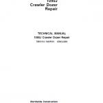 John Deere 1050J Crawler Dozer Service Manual