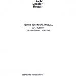 John Deere 324J Loader Repair Service Manual