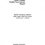 John Deere 624H, TC62H Loader Service Manual