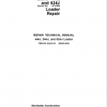 John Deere 444J, 544J, 624J Loader Service Manual (SN. before 611274)