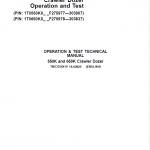John Deere 550K, 650K Crawler Dozer Service Manual (SN. from F275977-F303907)