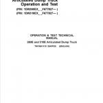 John Deere 260E and 310E Articulated Dump Truck Service Manual (SN. from F677827)