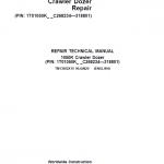John Deere 1050K Crawler Dozer Service Manual (SN. from C268234 – C318801)