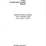 John Deere 210LJ Landscape Loader Repair Service Manual