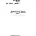 John Deere 245GLC Excavator Service Manual (SN. F800001-)