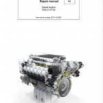 Liebherr D9512 A7-04 Engine Service Manual