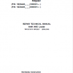 John Deere 644K 4WD Loader Service Manual (S.N. after C000001 & D000001 – )