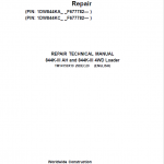 John Deere 844K-III AH, 844K-III 4WD Loader Service Manual (S.N after F677782 – )
