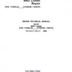 John Deere WL53 4WD Loader Repair Service Manual (S.N D100008 – D100079)