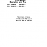 John Deere 844K 4WD Series II Loader Service Manual (S.N after C664096 & D664096 -)