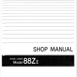 Kawasaki 85ZII Wheel Loader Service Manual