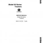 John Deere 50, 520, 530 (50 Series) Tractors Service Manual