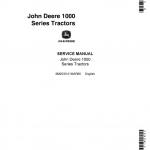 John Deere 1010 RS,1010 RU,1010 RUS,1010 O,1010 U,1010 R Tractors Service Manual