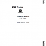 John Deere 2120 Tractor Repair Service Manual