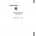 John Deere 2120 Tractor Repair Service Manual