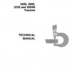 John Deere 2355, 2555, 2755, 2855N Tractors Repair Service Manual