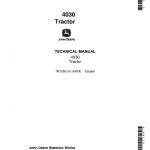 John Deere 4030 Tractor Repair Service Manual