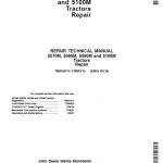 John Deere 5070M, 5080M, 5090M, 5100M Tractors Repair Service Manual