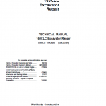 John Deere 160CLC Excavator Repair Service Manual