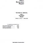 John Deere 160LC Excavator Repair Service Manual