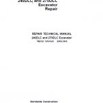 John Deere 240DLC, 270DLC Excavator Repair Service Manual