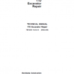 John Deere 17D Excavator Repair Service Manual