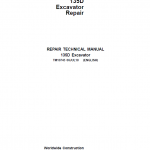 John Deere 135D Excavator Repair Service Manual