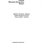 John Deere 220DW Wheeled Excavator Service Manual