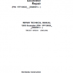 John Deere 130GLC Excavator Repair Service Manual (S.N after D040001 – )