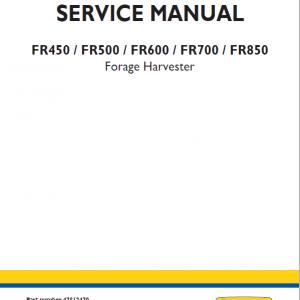 new holland FR700 Harvester manual