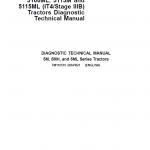 John Deere 5100M, 5100MH, 5100ML, 5115M, 5115ML (IT4) Tractors Repair Manual